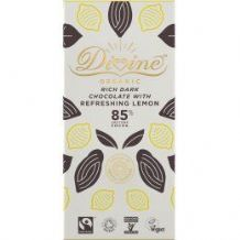 Divine Fairtrade Chocolate With Lemon 80g